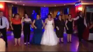 Surprise wedding dance by Brides Family