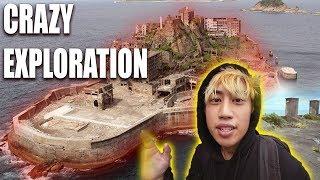 Exploring Abandoned APOCALYPTIC CITY Gunkanjima BATTLESHIP ISLAND (JAMESBOND SKYFALL)