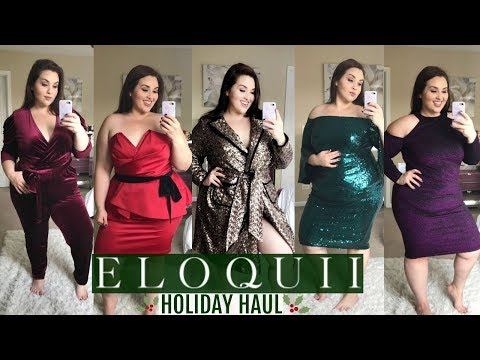 Xxx Mp4 ELOQUII Holiday Try On Haul Plus Size Fashion 3gp Sex