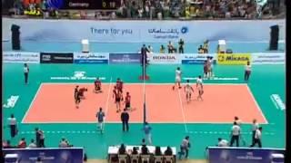 توپ و تور مسابقات والیبال ایران و آلمان - Iran vs Germany Volleyball 2013