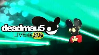 "deadmau5 playing ""Ruby"" by Cirez D LIVE @ Provinssi 2015"
