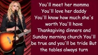 Miranda Lambert ~ To Learn Her (Lyrics)