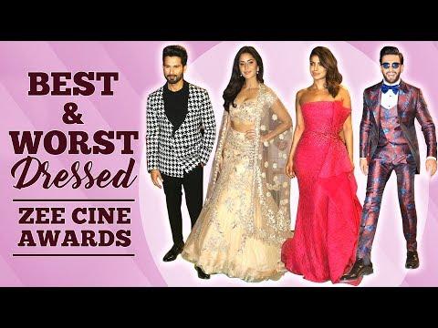 Xxx Mp4 Alia Bhatt Priyanka Chopra Katrina Kaif Best And Worst Dressed Zee Cine Awards 2018 Fashion 3gp Sex
