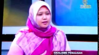 Penulis Azzah AR di Assalamualaikum, TV Al-Hijrah