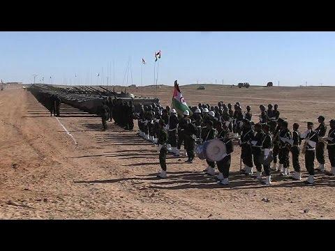 Xxx Mp4 Parade Militaire Des Forces Du Sahara Occidental à Tindouf 3gp Sex