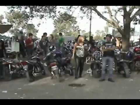 VERDADERAS MOTOQUERAS Motoencuentro Villa Segui Entre Rios 24 03 2012