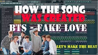 Let's make the beat from BTS - FAKE LOVE