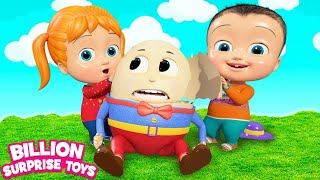 Songs for Children | Humpty Dumpty Nursery rhyme for Kids