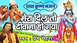 Mera Dil To Deewana Ho Gaya || Beautiful Shri Krishna Bhajan By Prem Mehra #Ambey Bhakti