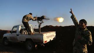 Syria: Turkish forces push into Kurdish-controlled Afrin
