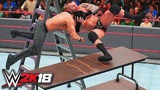 WWE 2K18 - 25 Ways To HIT THE RKO!