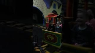 Safaa est au  Magic  Park de Rabat salė
