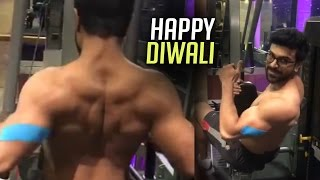 Ram Charan GYM Workouts For Dhruva | Charan Hard Workouts at GYM | TFPC