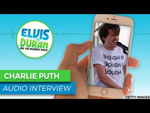 Charlie Puth Reveals Why Upcoming Single 'The Way I Am' Will Shock People | Elvis Duran Show