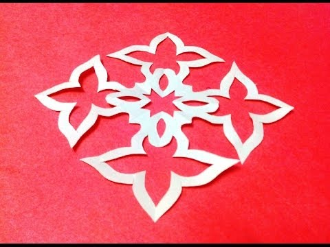 paper cutting patterns Do it yourself and use the diy paper cutting to decorate your house  the steps  below, so that you can make the decorative patterns on the four sides the same.