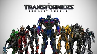 Transformers: The Last Knight - Cast Robots