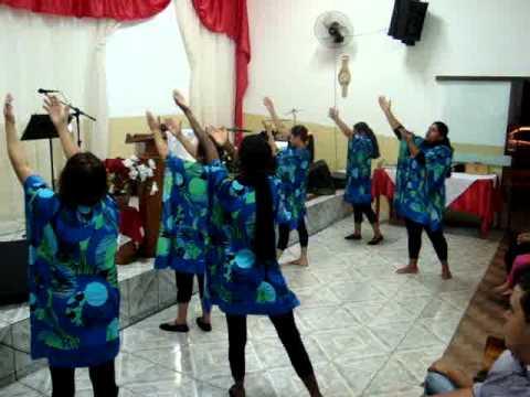 coreografia gospel grupo missionario de mulheres IEQ jardim italia dourados ms