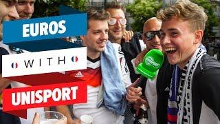 I went to see Germany 🇩🇪  vs. 🇸🇰 Slovakia! 😱 - EURO with Unisport #18