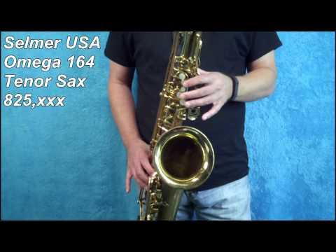 Xxx Mp4 Selmer USA 164 Omega Tenor Sax 825 Xxx 3gp Sex