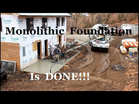 Xxx Mp4 Poured Monolithic Concrete Foundation For Addition 3gp Sex