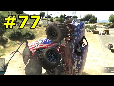 GTA 5 Funny Moments #77   LIBERATOR SEX! w/The Piggies