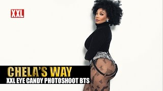 The Real Chela's Way XXL Eye Candy Shoot Winter Issue - Behind the Scenes