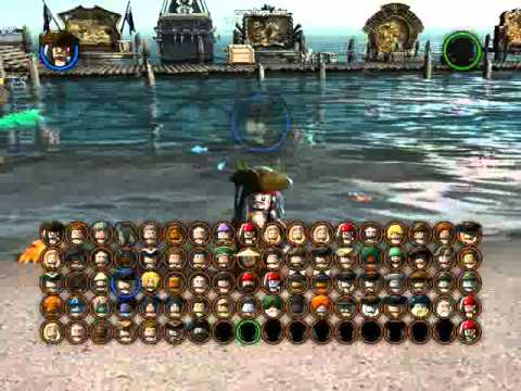 Lego Pirates Of The Caribbean The Video Game All Playable Characters Unlocked