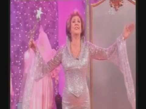 Cilla Black as the Fairy Godmother in a TV pantomime of