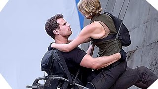 DIVERGENT 3 Allegiant - Tris and Four climb the wall [Making-of]
