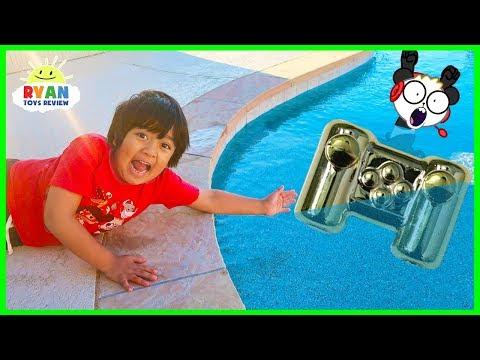 Ryan lost Combo Panda s Gaming Controller in the Swimming Pool