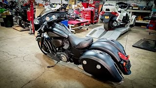 2016 Chieftain Dark Horse!! - Absolutely Amazing! | BikeReviews