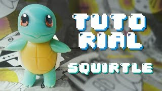 SQUIRTLE Pokemon Polymer Clay Tutorial // Porcelana Fria