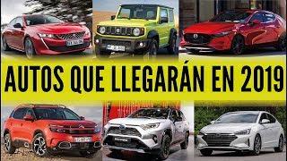 36 AUTOS QUE LLEGARÁN EN 2019 - LOS MÁS ESPERADOS DEL 2019   |  CAR MOTOR