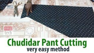Chudidar Pant cutting easy method churidar pant cutting Salwar Pants