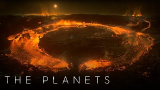 Jupiter's Moon IO is a World of Fire and Lava | The Planets | BBC Earth