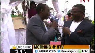 Brian Mulondo celebrates Kabaka's 60th birthday at Bulange