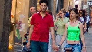 Siena walking tour in historic center