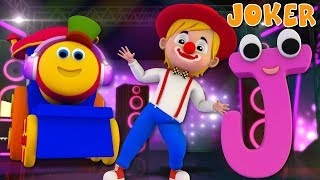 Phonics Letter J | Word Play | Learning Street With Bob The Train | Videos For Babies by Kids Tv