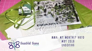 MMH My Monthly Hero May 2018 Card Kit Unboxing