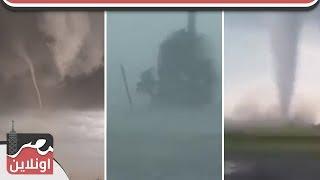 عاجل... اعصار مدمر في هونج كونج و جنوب اسيا