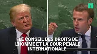 À l'ONU, le discours de Macron répond (encore) point par point à celui de Trump