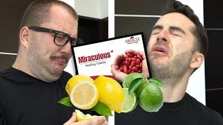 Testing Sour Foods with Miracle Berries
