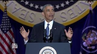 Obama says Americans all share the same title: citizen