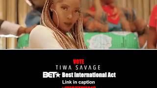 Tiwa Savage  -BET Awards Best International Act Nominee