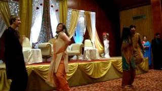o re kanchi dance- Shaheen, Krista, Sunny, Trey