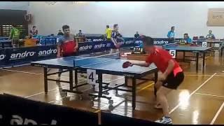 Ismu Ina Vs China Player (Semi Fnl) - Kejuaraan Asia Pacific Veteran kelas 40 thn Bandung Des 2016