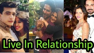 Top 10 Tv actors who r in Live in Relationships |without marriage