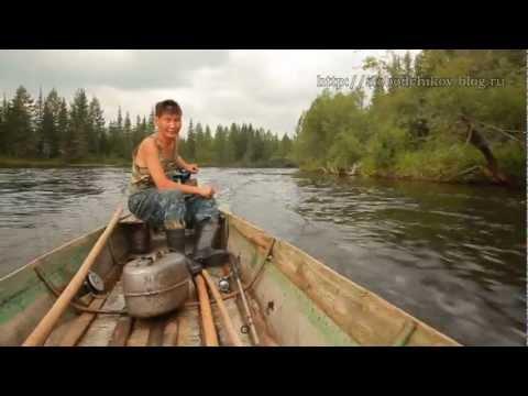 езда по тайге на рыбалку видео