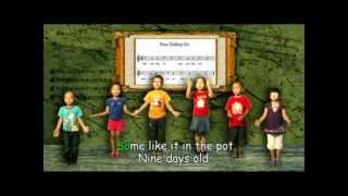 Mizoram SCERT Nursery Rhymes - Peas Pudding