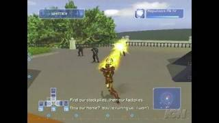 Iron Man PlayStation 2 Gameplay - Flying for